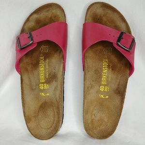 Birkenstock Shoes - Birkenstock Hot Pink Madrid Sandals US 9 NARROW
